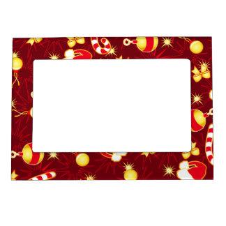 Red - Santa's cap Magnetic Frame