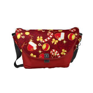 Red - Santa's cap Messenger Bags