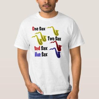 Red Sax Blue Sax Shirts
