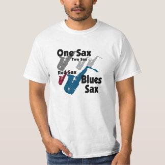 Red Sax Blue Sax Tee Shirt