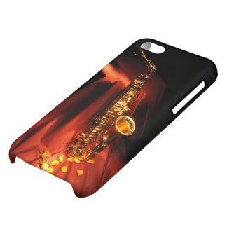 Red Saxophone Glossy iPhone 5C Case