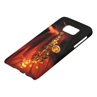 Red Saxophone Samsung Galaxy S7 Case