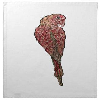 Red Scarlet Napkin