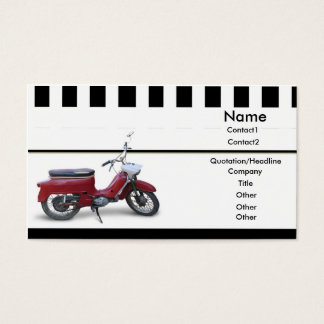 Red Scooter Business Card