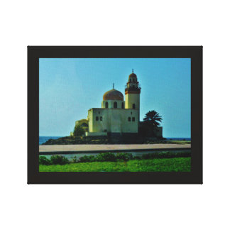 Red Sea Mosque Canvas Print