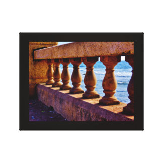 Red Sea Pillars Canvas Print