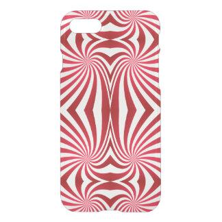 Red seamless swirl pattern iPhone 7 case