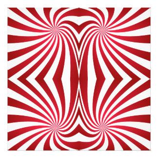 Red seamless swirl pattern art photo