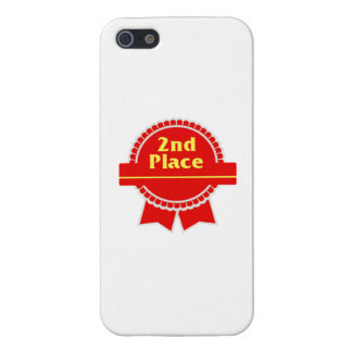 Red Second Place Ribbon Covers For iPhone 5