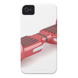 Red self-balancing scooter iPhone 4 case