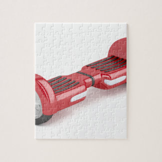 Red self-balancing scooter jigsaw puzzle