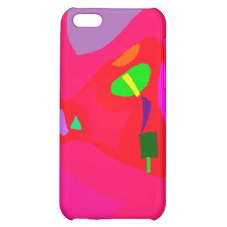 Red Sensation No Material Soul Engaging iPhone 5C Cases