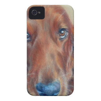 Red setter dog iPhone 4 Case-Mate case