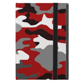 Red Shadows Camo iPad Mini Case