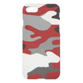 Red Shadows Camo iPhone 7 Case