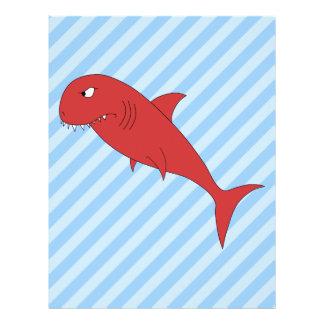 Red Shark. Flyer