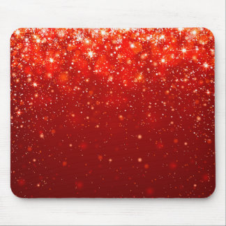 red shining pattern mouse pad