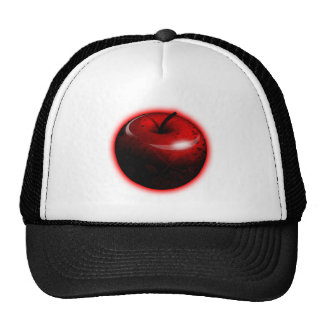 Red Shiny Apple -  Forbidden Fruit Cap