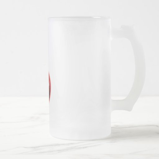 Red Shiny Apple -  Forbidden Fruit Mug