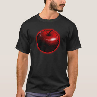 Red Shiny Apple -  Forbidden Fruit T-Shirt