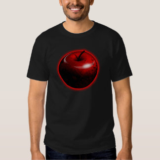 Red Shiny Apple -  Forbidden Fruit T-shirts
