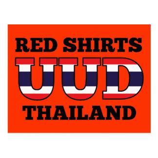 Red Shirts UDD Thailand Postcards