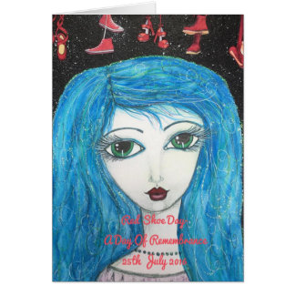 Red Shoe Day Greeting Card