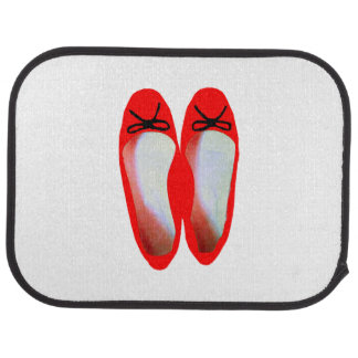 Red Shoes Car Mat
