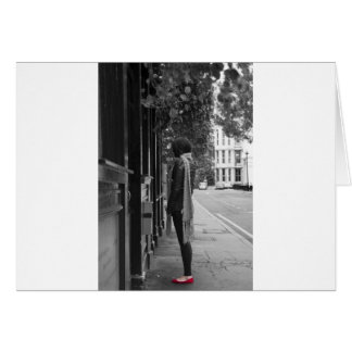 Red Shoes Greeting Cards