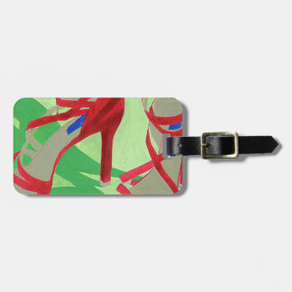 Red Shoes Luggage Tag