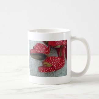 Red Shoes Mugs