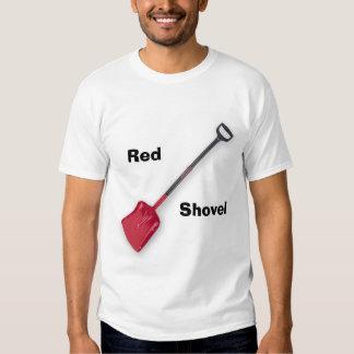Red Shovel T Shirt