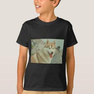 Red Siberian Husky Shirts