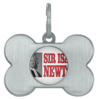 red sir Newton Pet Tags