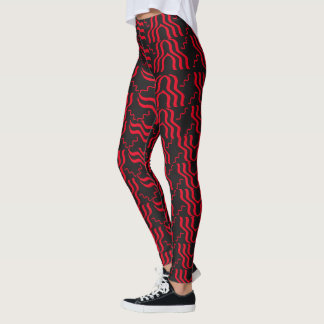 RED SIZZLE leggings