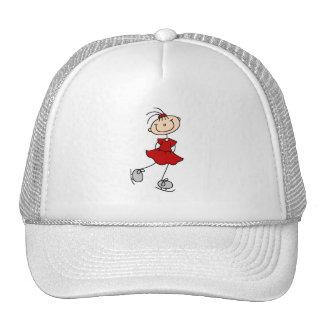 Red Skater Girl Hat