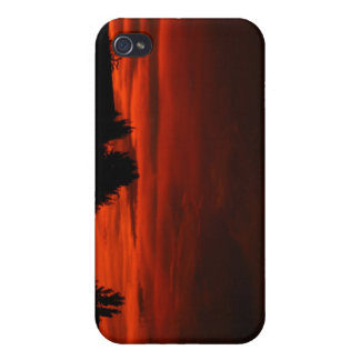 Red Skies iPhone 4 Cases