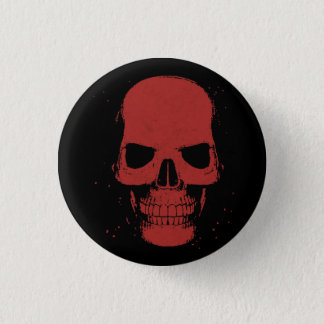 Red Skull Button