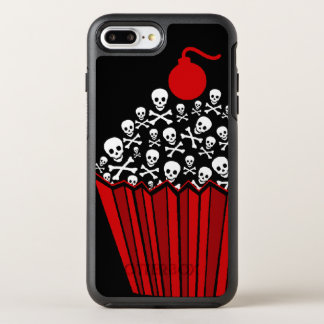 +|| Red Skull & Crossbone Cupcake ||+ OtterBox Symmetry iPhone 8 Plus/7 Plus Case