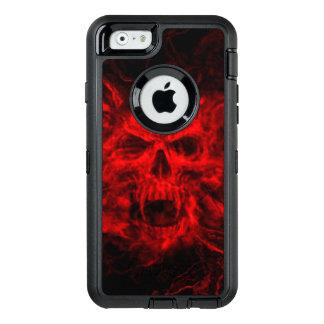 red skull head art OtterBox iPhone 6/6s case