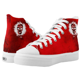 Red Skull High Tops