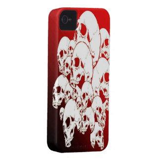 Red Skull iPhone 4/4s Mate ID Case iPhone 4 Case