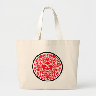 RED SKULL PRODUCTS TOTE BAGS