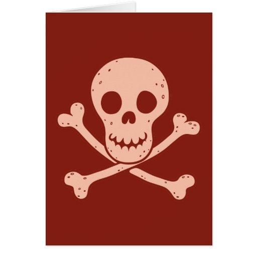 Red Skullington Cards