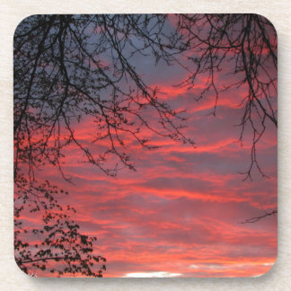 Red Sky at Night Coasters