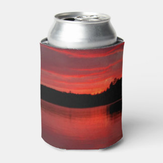 Red sky  can  cooler