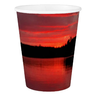 Red sky cup