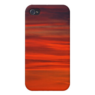 Red Sky iPhone 4 Covers