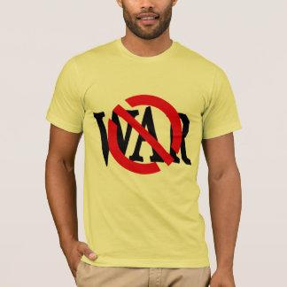 Red Slash Through War T-Shirt