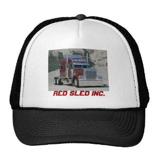 Red Sled Cap